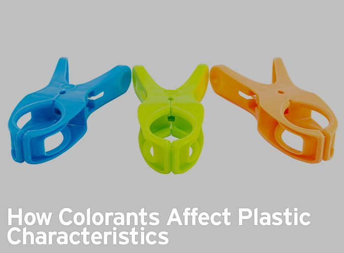 How Colorants Affect Plastic Characteristics