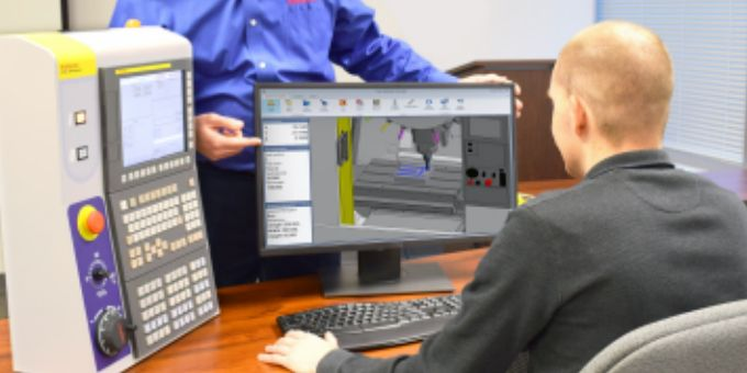 Axiomtek and FANUC America Case Study: Machining Simulator