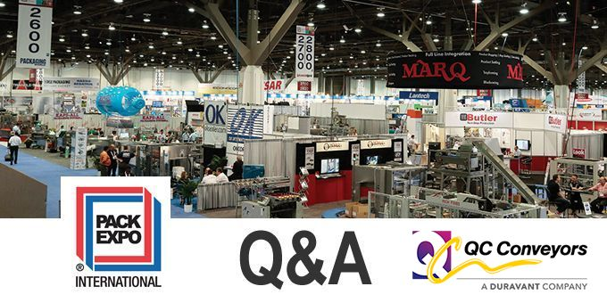 Talking PACK EXPO with QC Conveyors