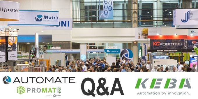 Automate 2019 with KEBA
