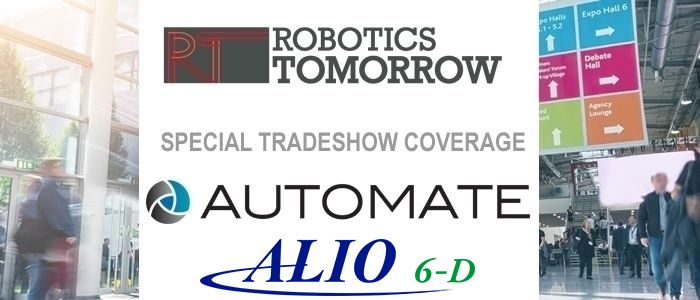 Talking Automate 2019 with ALIO Industries
