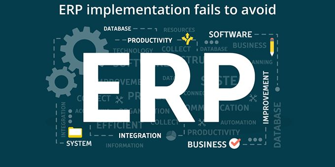 ERP Implementation Fails to Avoid