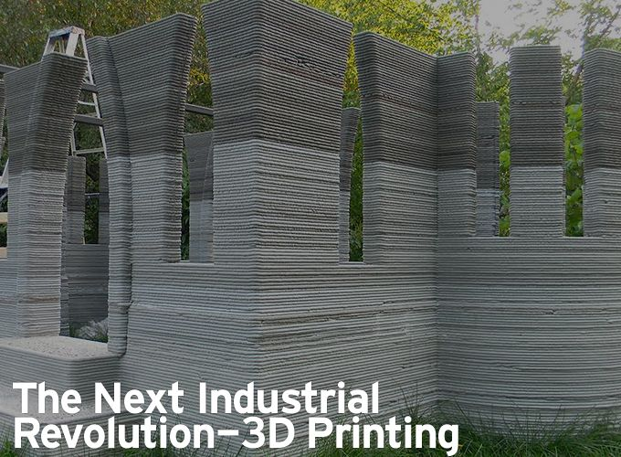 The Next Industrial Revolution - 3D Printing