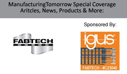 Special Tradeshow Coverage for FABTECH