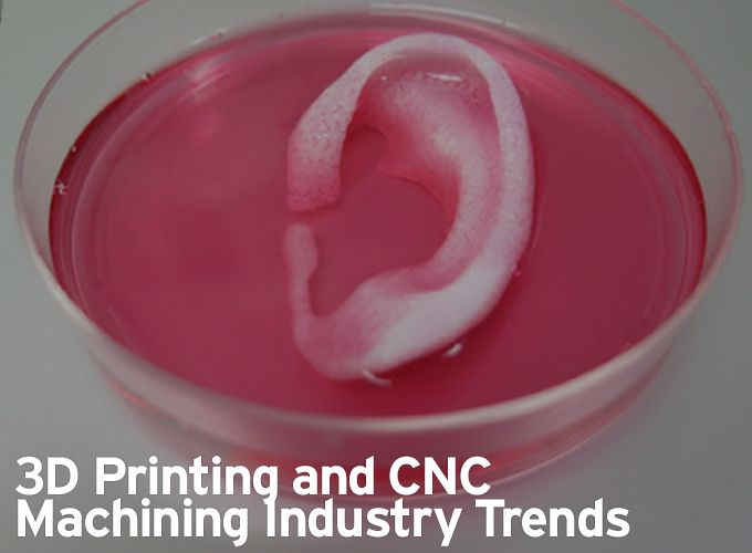 3D Printing and CNC Machining Industry Trends