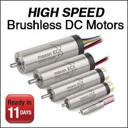 maxon motor's - The ultra-fast brushless DC motor