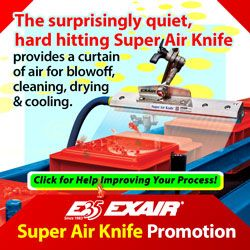 EXAIR's Super Air Knife