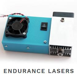 The Endurance flagship 10 watt (10000 mW) diode laser module.
