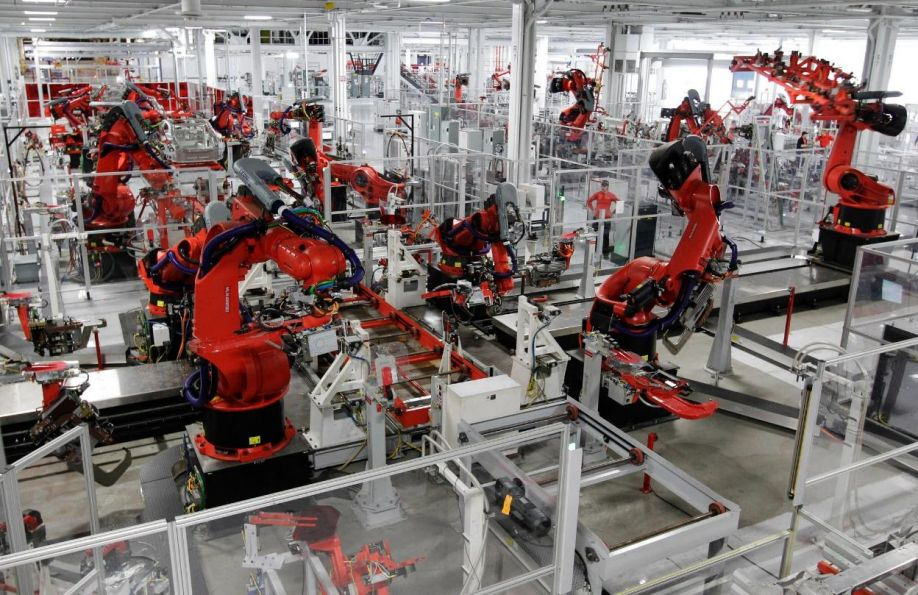 Image result for robots used by Foxconn